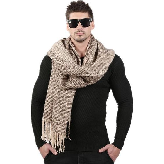 Item Type: Scarves Department Name: Adult Style: Fashion Pattern Type: Solid Material: Acrylic,Cashmere,Wool Scarves Type: Scarf Gender: Men Model Number: WJ007 Scarves Length: >175cm Brand Name: URGENTMAN Style: Fashion knitted cashmere scarves Size: 70cm*200cm Big And Long Scarf Weight: 270g