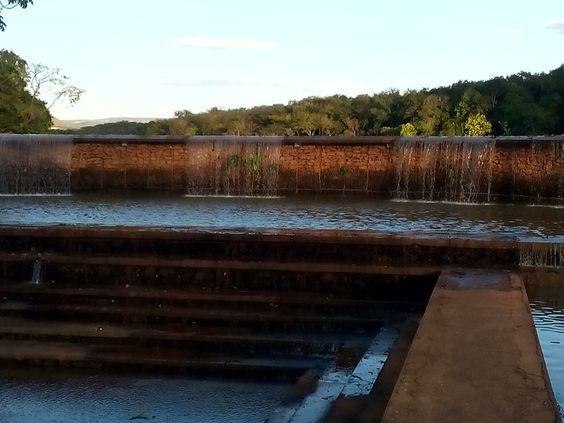 Queda d'água Parque Cesamar - Palmas - To