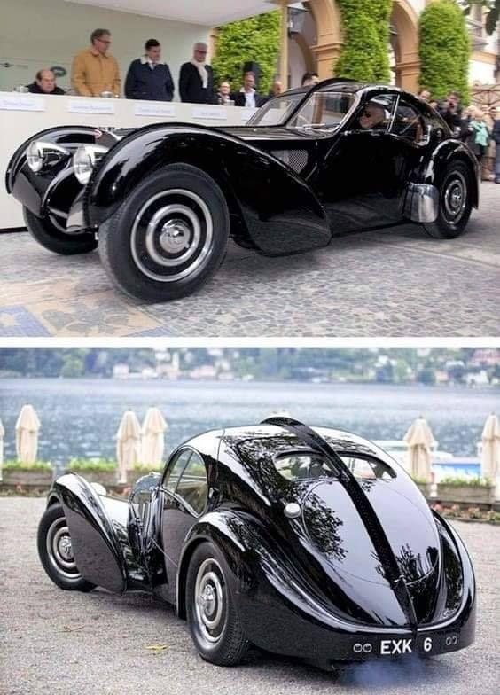 1938 Bugatti Type 57sc Atlantic Bugatti Cars Custom Cars Bugatti Type 57