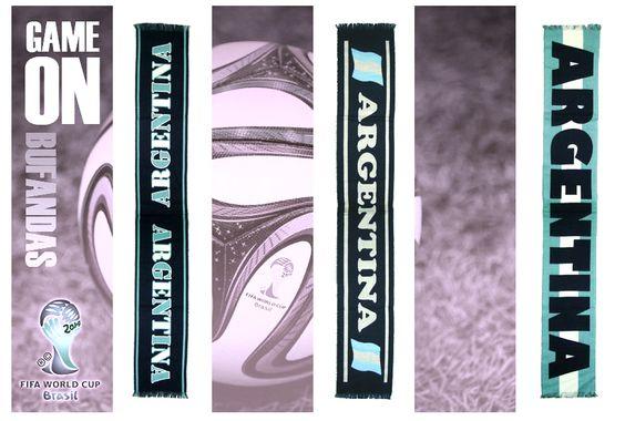 Accesorios y Moda / Bufandas Argentina (Mundial 2014)
