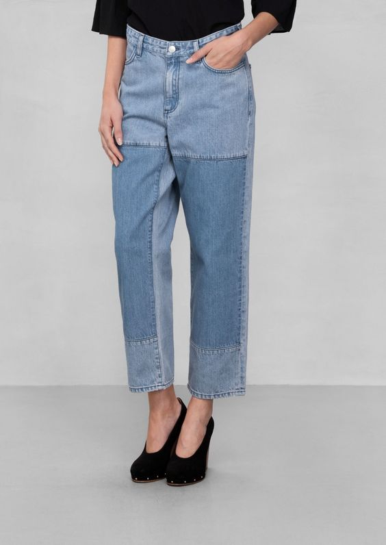 & Other Stories | Cropped Relaxed Jeans £45 http://www.stories.com/gb/Ready-to-wear/Trousers/Cropped_Relaxed_Jeans/582932-101277304.1