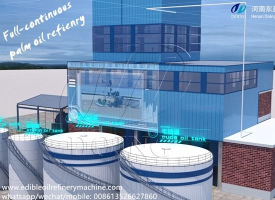 How Does A Full Continuous Type Palm Oil Refinery Plant Work Oil Refinery Refinery Palm Oil
