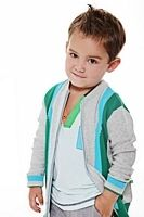 Fore!! Axel & Hudson Glee Zip Front Cardigan **Pre-Order**
