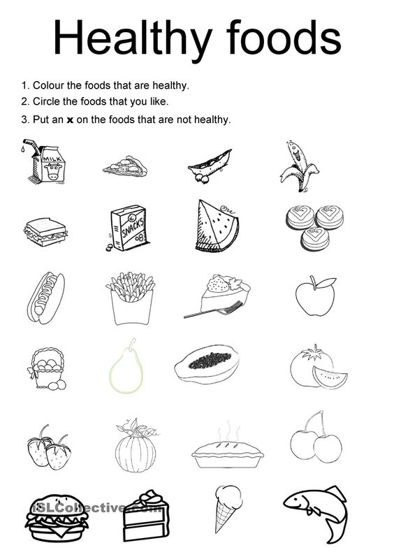 Printables Kids Health Worksheets healthy foods for kids worksheets good galleries family health galleries