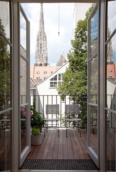 1010 Wien Grünangergasse- Blick auf den Stephansdom