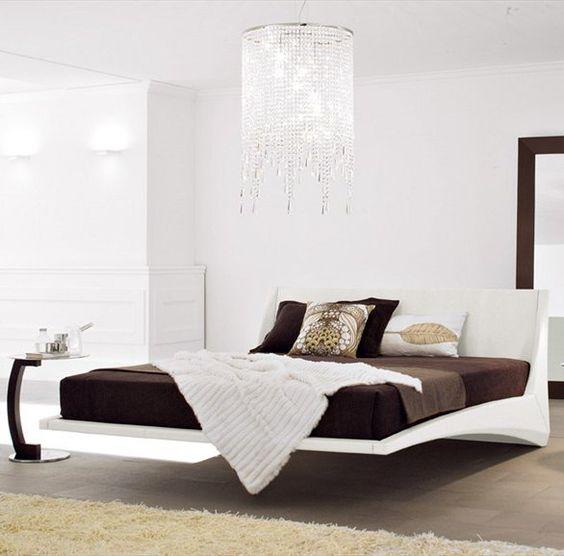 Double bed DYLAN by Cattelan Italia | #Design Andrea Lucatello #bedroom  #interiorsMueblería de Ángel en murcia.