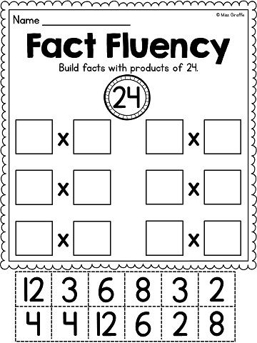 Number Names Worksheets fun multiplication practice worksheets : Pinterest • The world's catalog of ideas