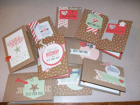 "The Happy Stamper: ""Hip Hip Hooray"" card kit"