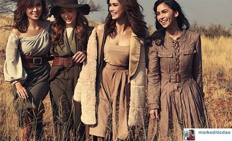 Kathryn Erich Maja And Julia Beauties In The Wilderness Star Cinema Filipino Celebrities