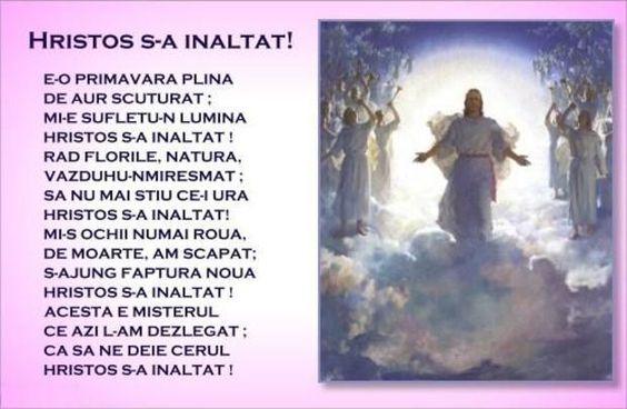 Hristos S-a inaltat ! | Trezire divina