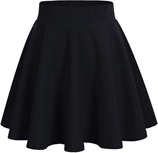 Bridesmay Jupe Patineuse Courte Mini En Polyester Plissee Amazon Fr Vetements Et Accessoires Jupes Mode Robes A La Mode Pour Enfants Jupe