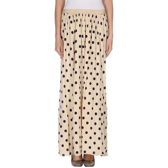 à_la_fois... Long Skirt ($66) ❤ liked on Polyvore featuring ...