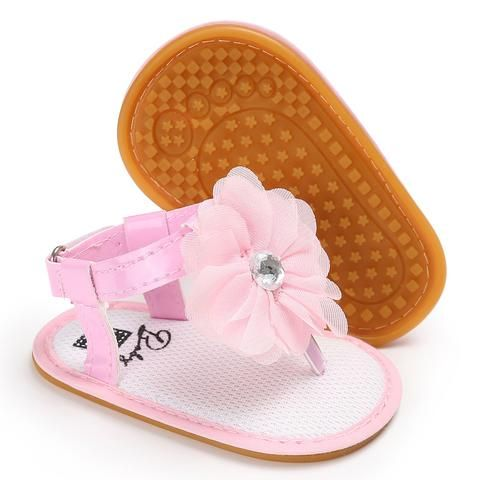 rubber sandals for girls