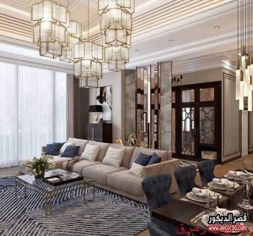 ديكورات منازل تركية حديثة 2020 ديكور تركي بسيط قصر الديكور Classic Dining Room Holiday Room Modern Dining Room