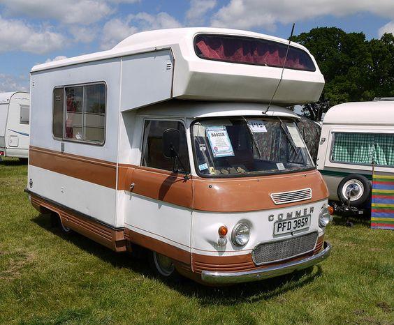 commer camper van 1976 by mick lumix via flickr autos