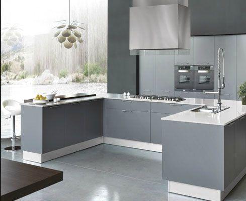 Amoblamientos para cocina de vanguardia nuevo modelo for Amoblamientos as