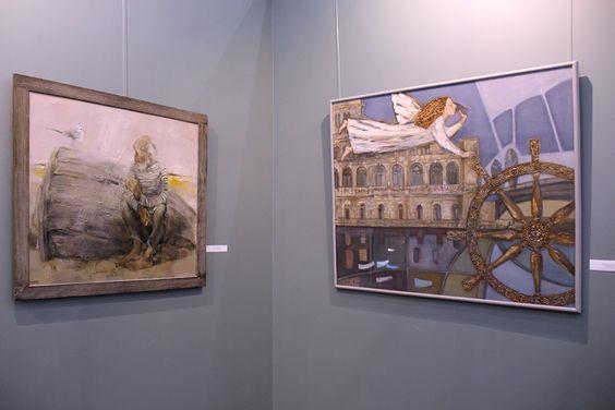 Работы с выставки в Калининграде. Фото Жени Шведы