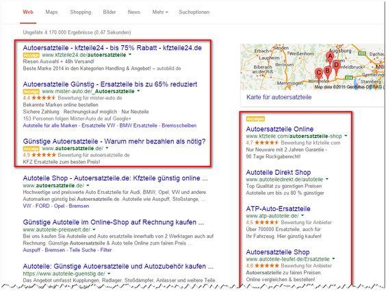~ Suchmaschinenwerbung mit AdWords ~