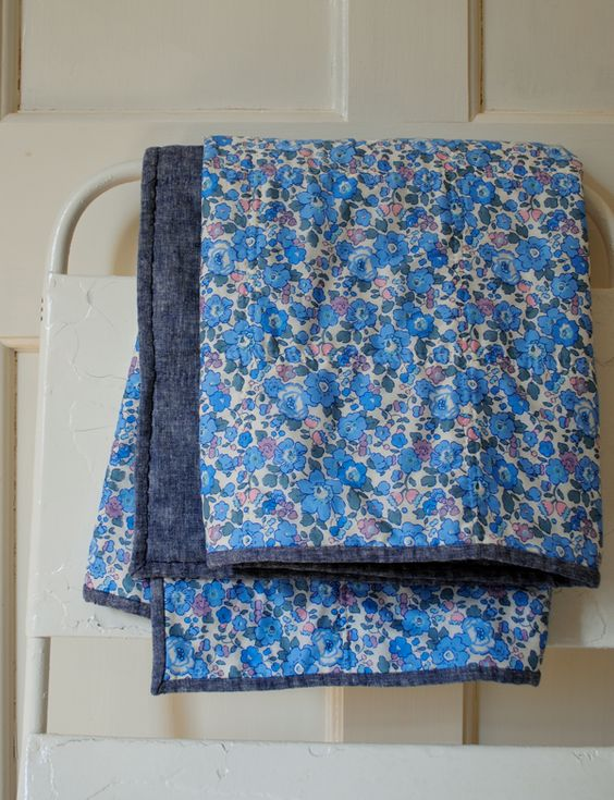 Easy Quilt tutorial -  The Purl Bee