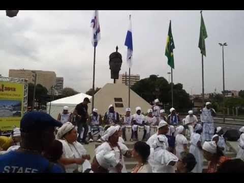 Zumbi 2012 com o Afoxé Filhos de Gandhi RIO.