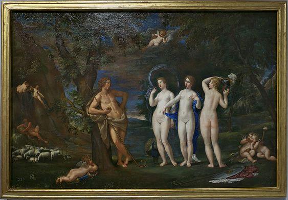 El Juicio de Paris, de Francesco Albani