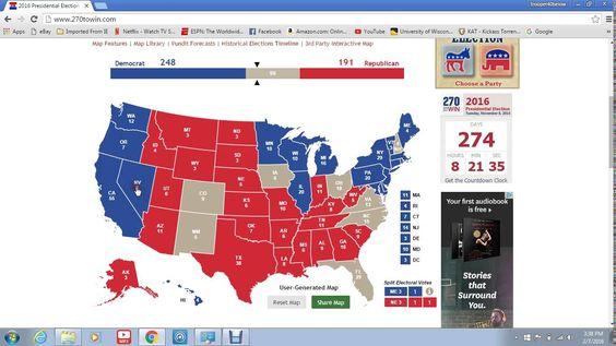 As 25 Mels Ideias De Electoral College Map 2016 So No Pinterest Citacoes Republicanas Ronald Reagan E Politica