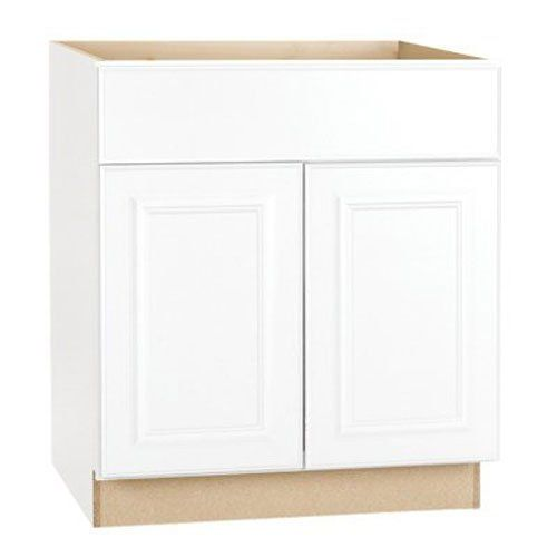 Kitchen Cabinets Ideas Rsi Home Products Sales Cbksb30sw White Finish Assembled Sink Base Cabinet 30 By 345 By Base Cabinets Hampton Bay Bathroom Vanity Base