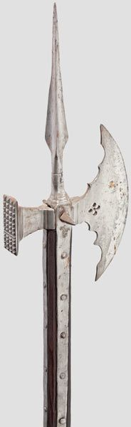 A rare Venetian polaxe for the foot tournament   (ascia da fante), first quarter of the 16th century