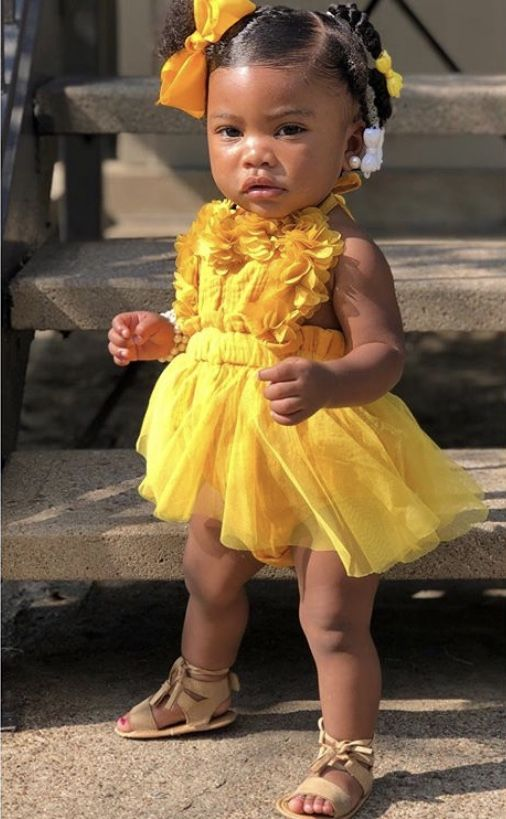 Pin By Pinkyyblinky On Babies Kids With Images Cute Outfits For Kids Black Baby Girl Hairstyles