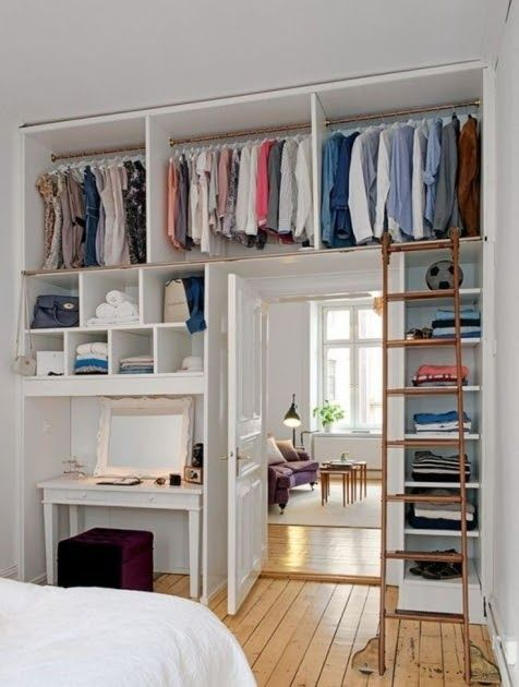 New Ikea Bedroom Storage Solution I K E A Go To P X Wardrobe 53 Insanely Clever Bedroom Storage Small Space Bedroom Closet Small Bedroom Small Bedroom Designs