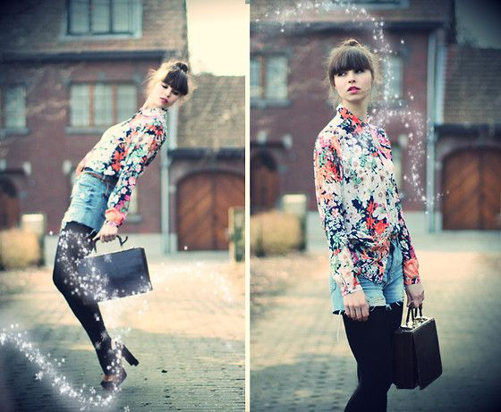 Chasing the falling star (by The Mad Twins -) http://lookbook.nu/look/3238997-chasing-the-falling-star