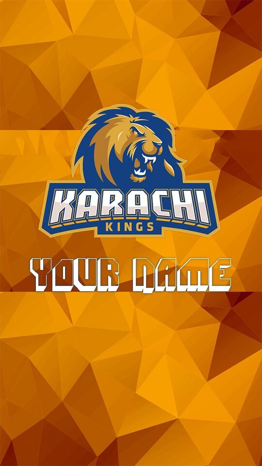 Best Official Dp Maker For Karachi Kings Get Your Karachi Kings Wallpaper And Dp Customize It With Your N In 2021 Android Wallpaper Profile Picture Images Pics For Dp