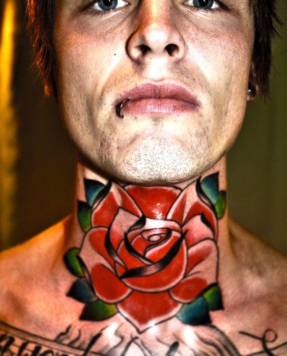 throat tattoo by Unibody.deviantart.com on @deviantART: