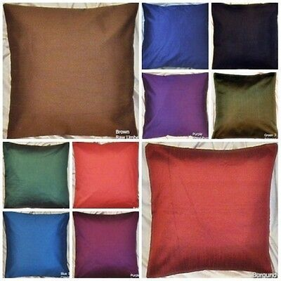 Ebay Link 24x24 Faux Solid Cushion Cover Sham Floor Bed Pillow Case 10 Color Lot Of 50 Home Garden Homedcor P Bed Pillows Decorative Bed Pillows Pillows