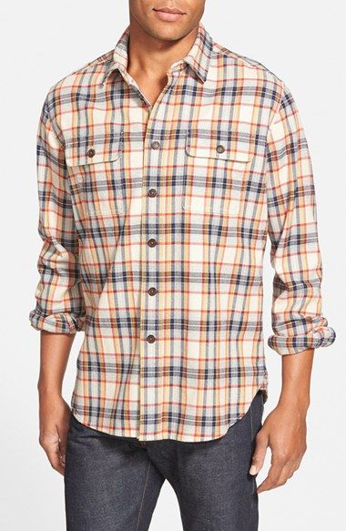 Grayers Slim Fit Heritage Flannel Sport Shirt