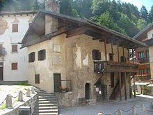 Geburtshaus Tizians in Pieve di Cadore