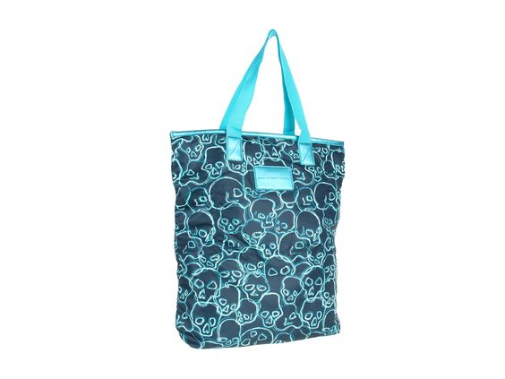 Marc by Marc Jacobs Packables Shopper Darkest Peacock Multi - Zappos Couture