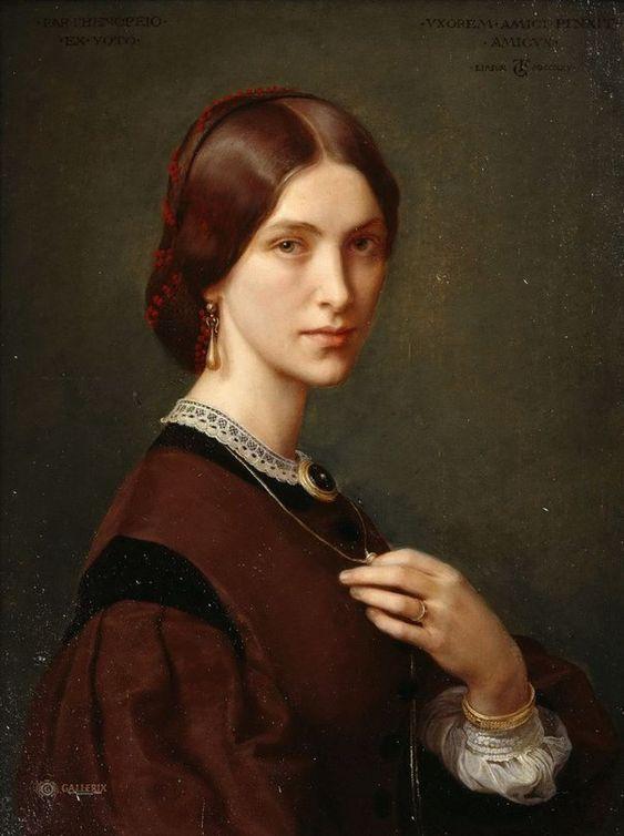 Grosse, Theodor Mrs. Agnes Jordan, 1865