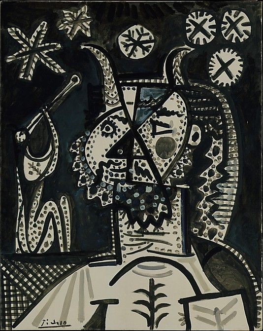 Pablo Picasso: Faun with Stars, 1955.: