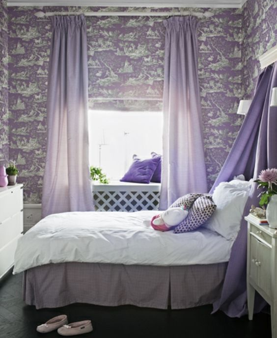 D co chambre fille de vos r ves d co et design for Deco chambre fille violet