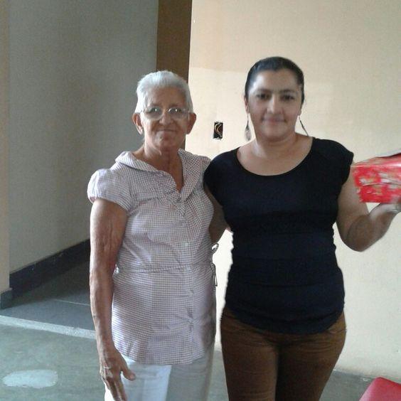 Yo y hermelinda a quien cariñosamente le desimos la abuela.