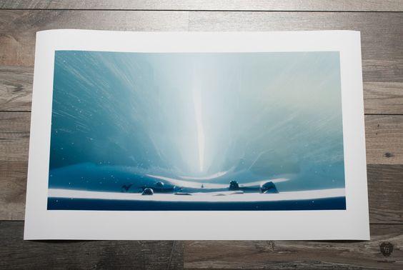 Acceptance of the Void - Journey Fine Art Print