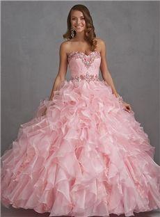 Boutique Sweetheart Floor Length Quinceanera Dress