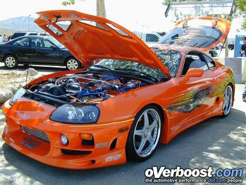 1995 Toyota Supra Turbo  Fast And Furious