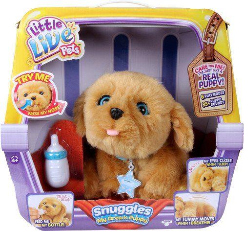 Little Live Pets Snuggles My Dream Puppy Little Live Pets Https Www Amazon Com Dp B01ctvwfhi Ref Cm Sw R Pi Dp U X C Little Live Pets Puppy Soft Toy Snuggles