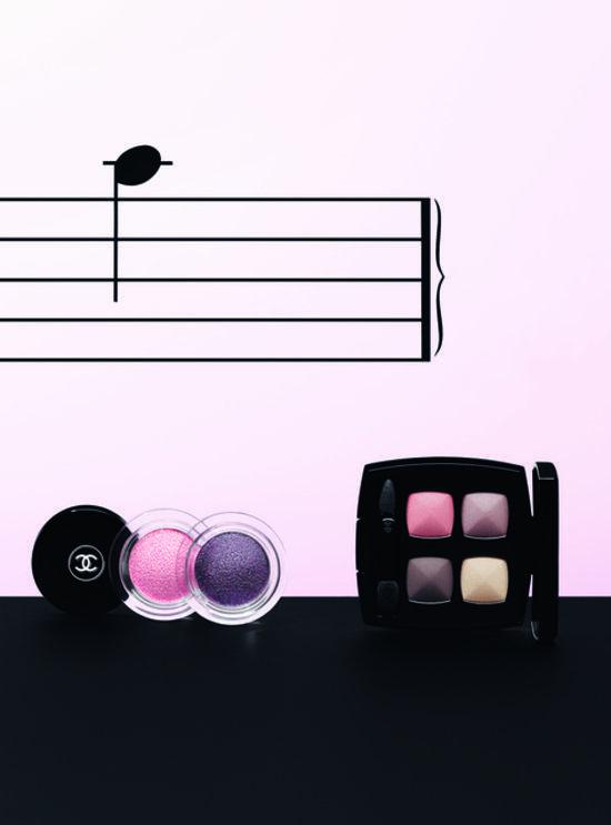 Chanel Notes De Printemps Spring Makeup Collection