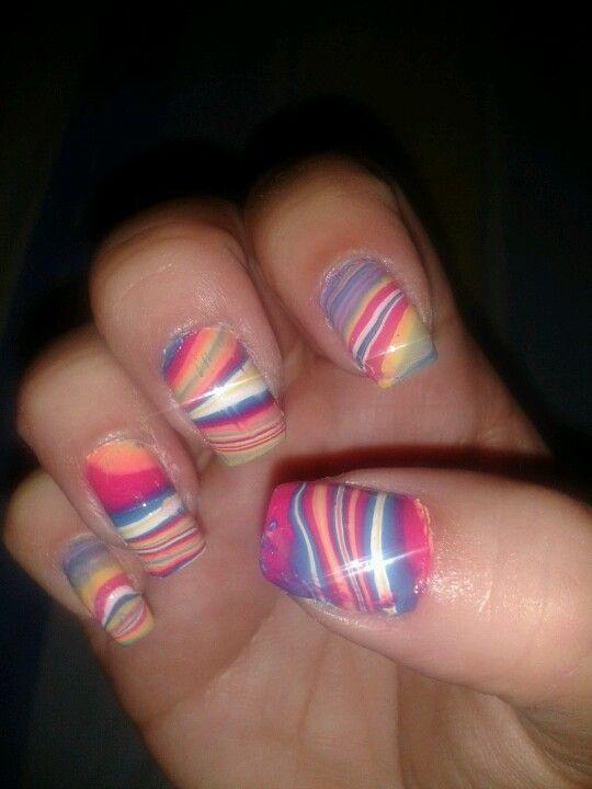 Mi nuevo diseño en uñas :)