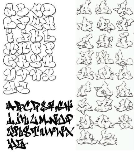 Imagenes de letras de graffitis en bomba abecedario , Imagui