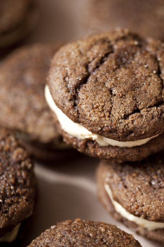 Ginger molasses cookies, Molasses cookies and Salted caramels on ...