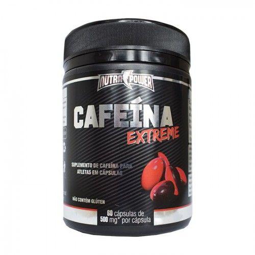 CAFÉINA EXTREME | SUPLEMENTO DE CAFEÍNA PARA ATLETAS EM CAPSULAS DE 420MG